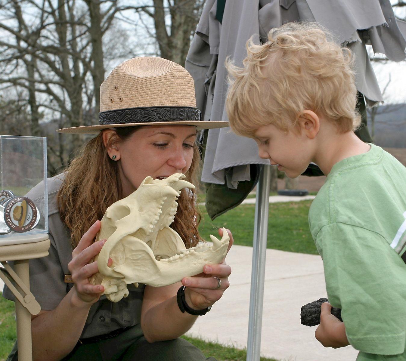 National Junior Ranger Day, Shenandoah National Park