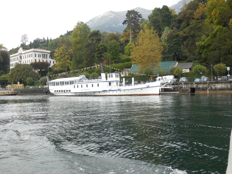Old Steamboat on Lake Como