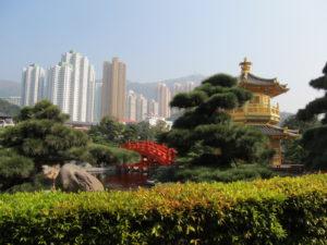 Old and new Hong Kong