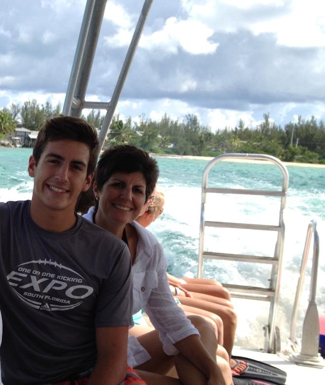 On a snorkel tour at Atlantis