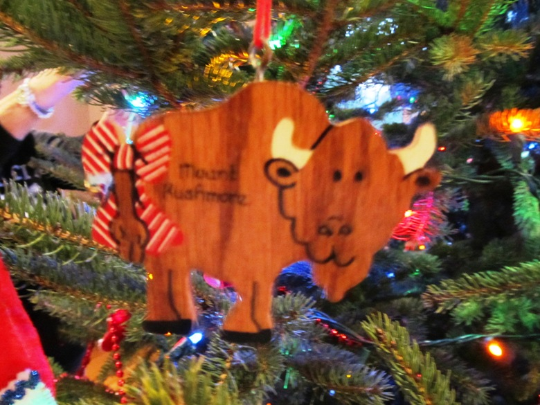 Memories abound of family vacations past on our Christmas tree