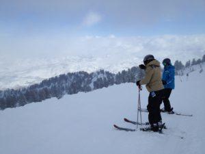Our powder day at Snowbasin Resort in Utah