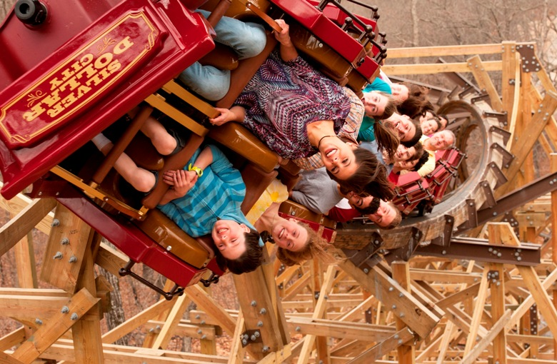 Check out all the new rides at a theme park this summer