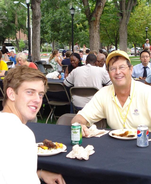 Parents' Farewell Picnic at Colorado College