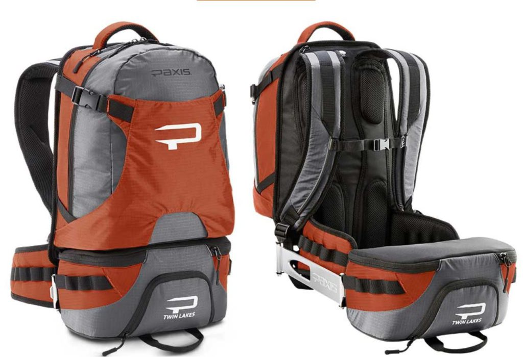 Paxis Twin Lakes swing out pouch backpack