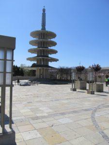 Peace Pagoda in Japantown San Francisco
