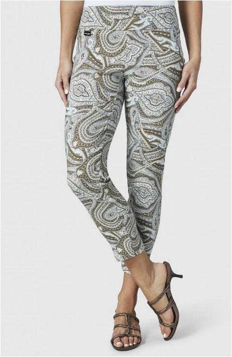 Persian Print pants from Lisettel Montreal