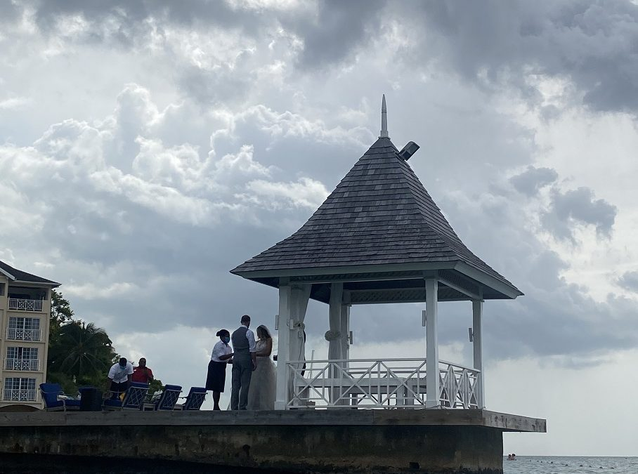 Wedding are back at Sandals in Jamaica