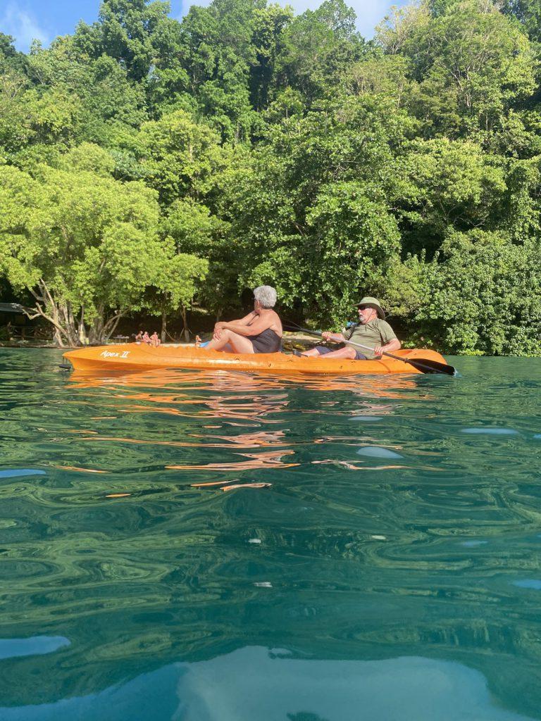 Kayaking on The Blue Lagoon