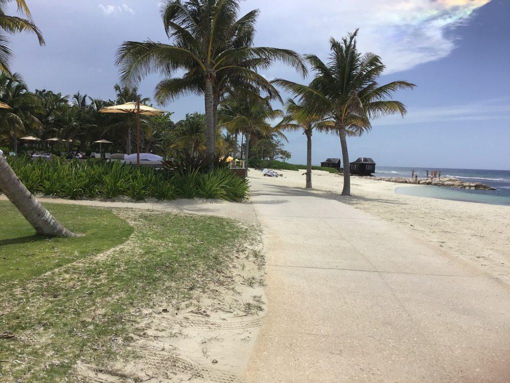One of the many beach views at Half Moon Resort