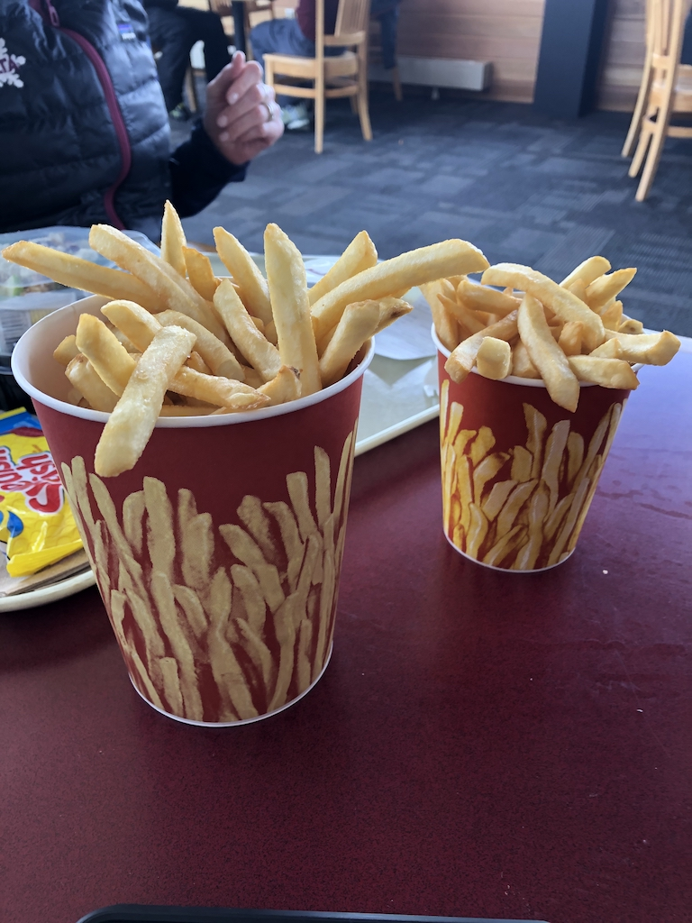 """The cure to 'hanger"""" - Alta's fries"""