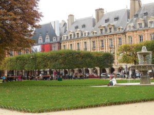 Place des Voges in Paris