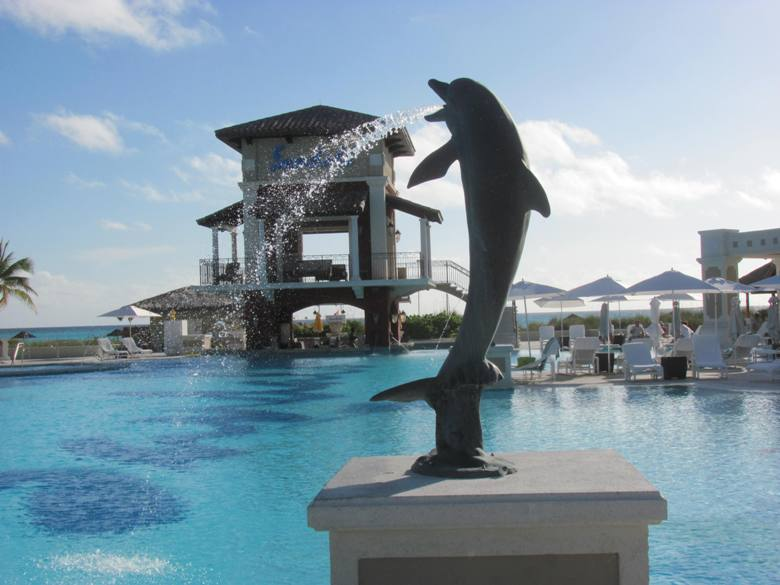 On a kids-free winter escape to the Bahamas