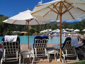 Poolside at the Broadmoor