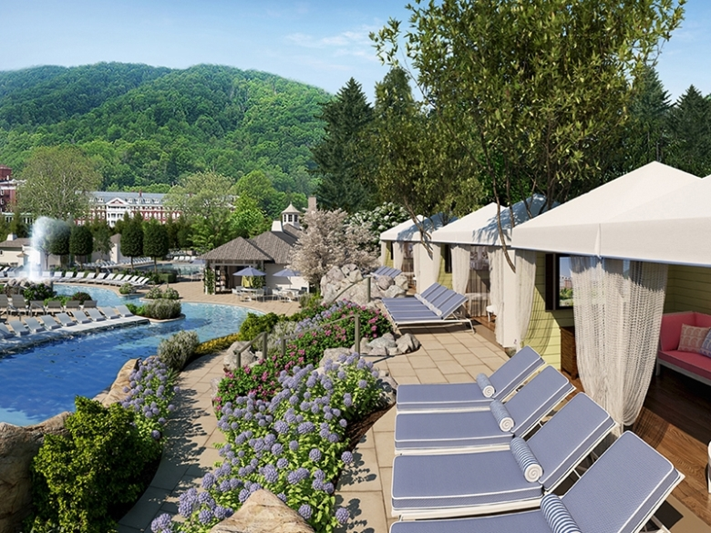 Presidential Treatment at the Homestead Resort in Virginia's mountains