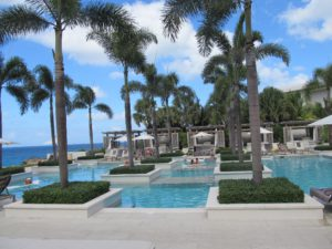 Poolside at the Viceroy Anguilla