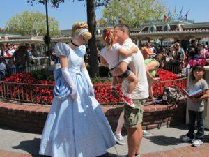 Princesses are a big draw at Disneyland