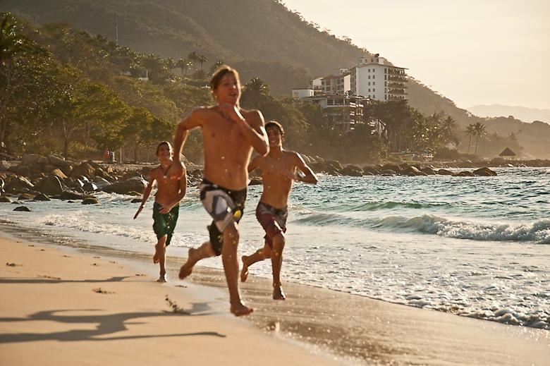 Puerto Vallarta beach scene