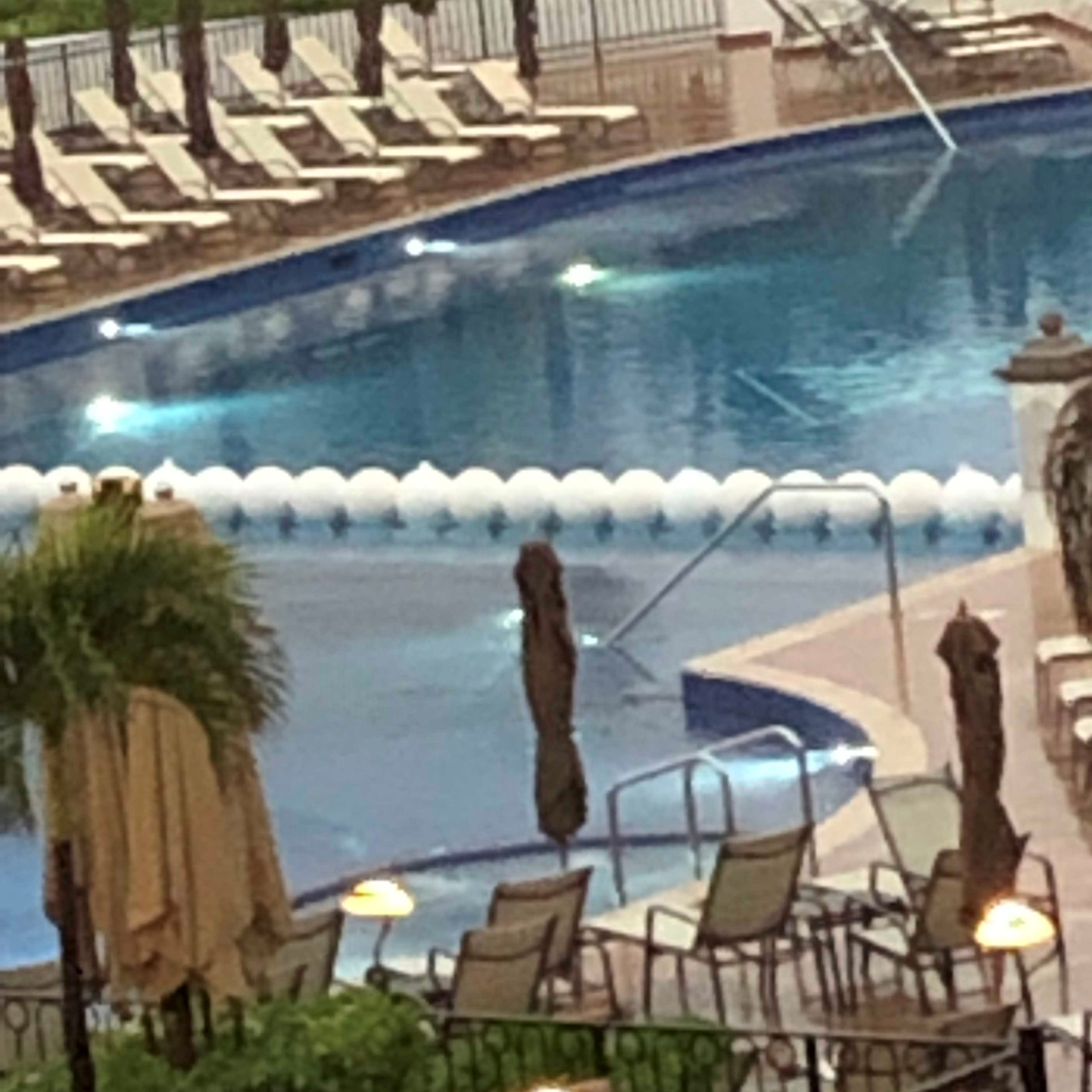 Rainy day at the Grand Residences Riviera Cancun