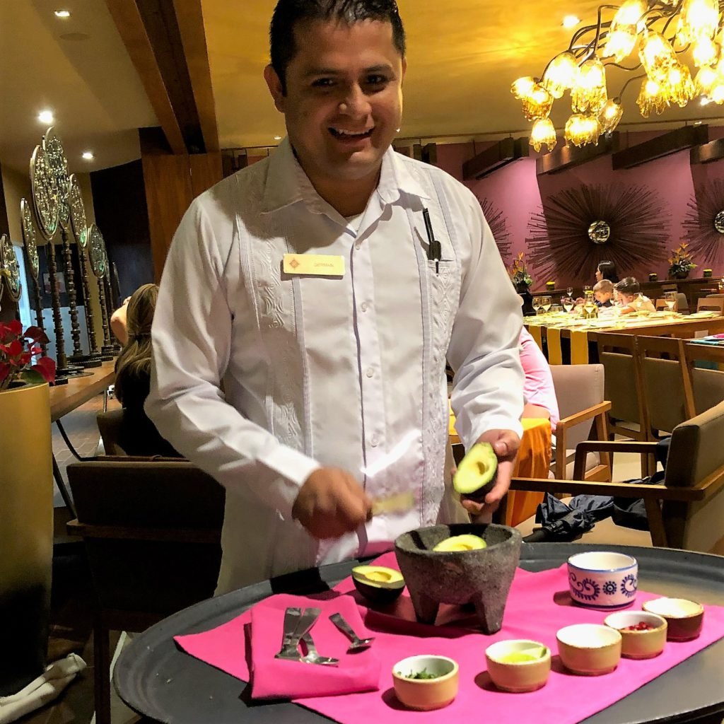 Rainy day lunch is served - Grand Residences Riviera Cancun