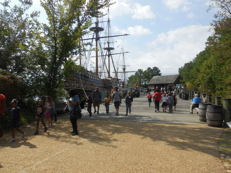 Jamestown Settlement:  the place to start your Historic Triangle history tour