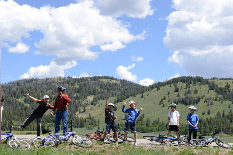 Road Scholar participants on Wyoming Wild West Adventure