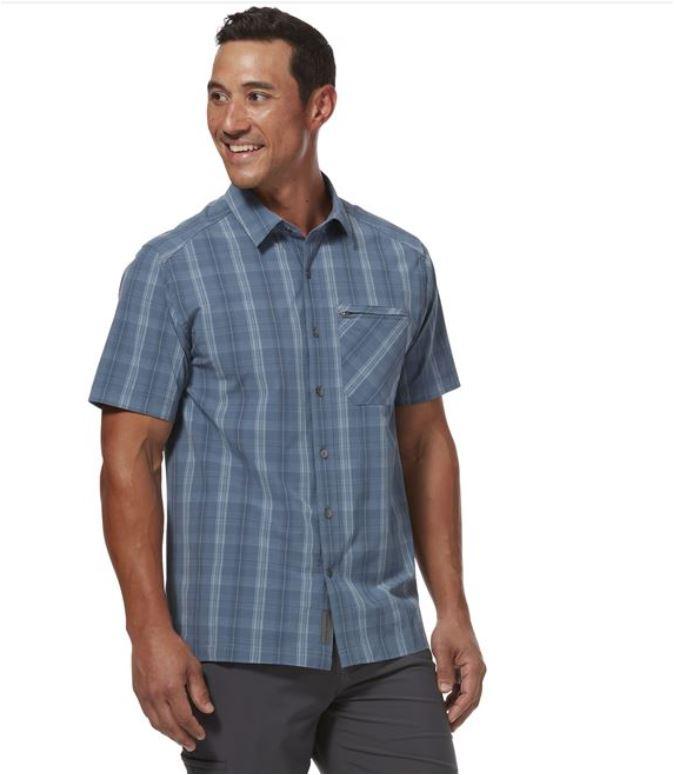 Royal Robbins Spotless Plaid short sleeve