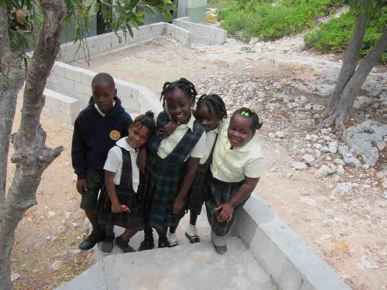 School kids in Turks & Caicos