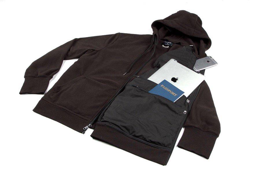 SCOTTeVEST micro fleece hoodie
