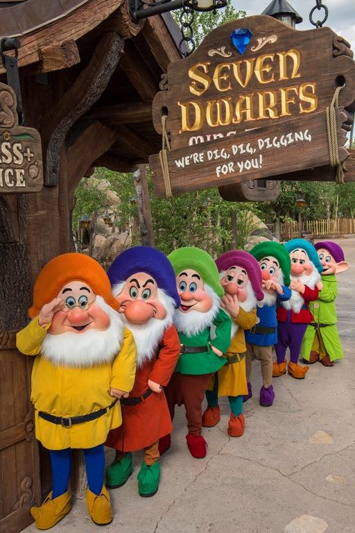 Seven Dwarfs Runaway Mine Train