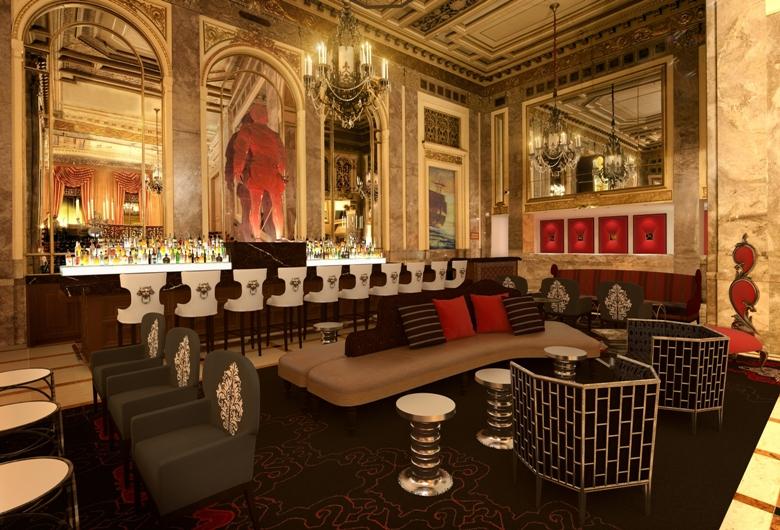 Sir Francis Drake lobby bar