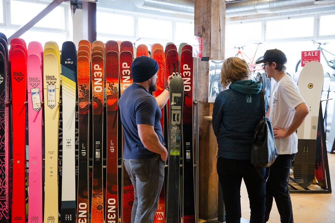 Ski Selection