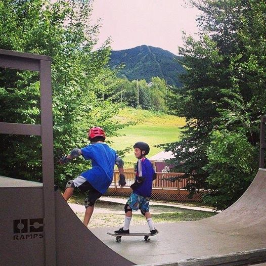 A mountain biking lesson well learned at Smugglers Notch VT