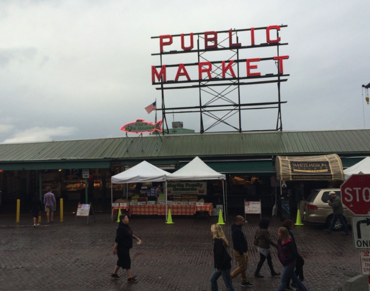 A local tour of Seattle's Pike Place Market