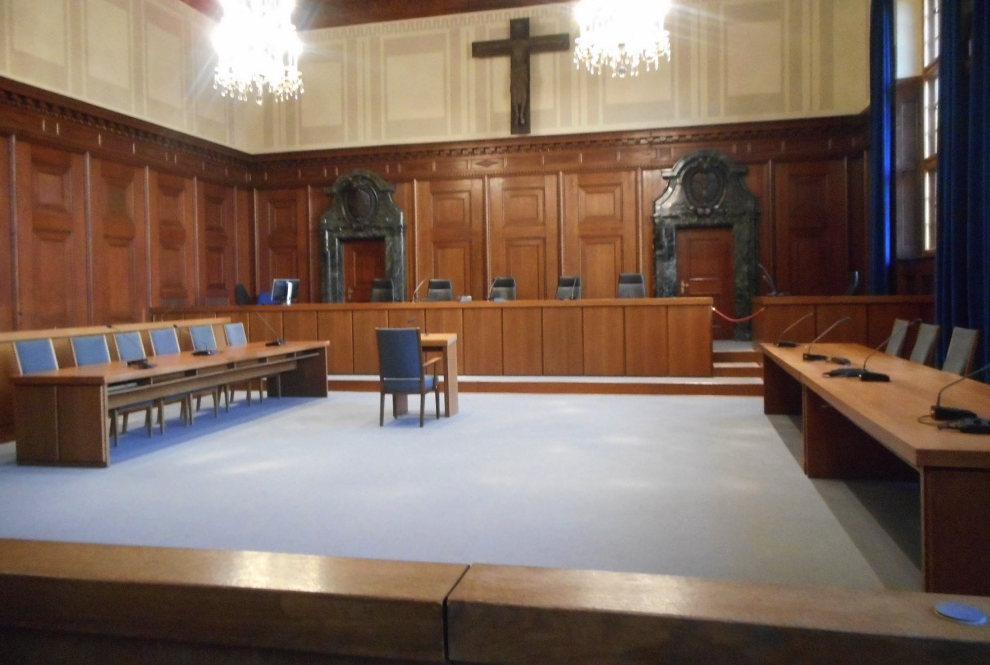 Courtroom 600 in Nuremberg today
