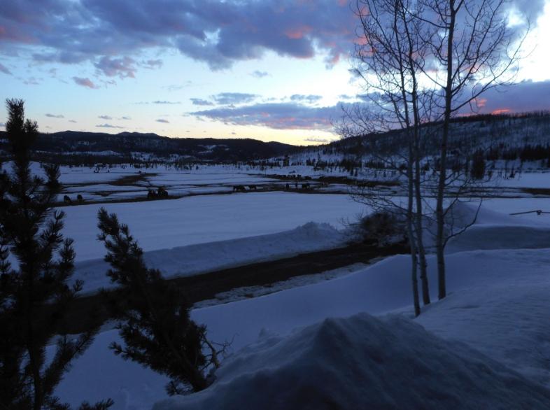 Combining ski vacation and dude ranch in the Colorado Rockies