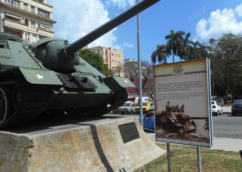Fidel's cannon used at Bay of Pigs