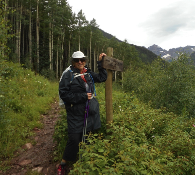 Almost finished - we reach the Maroon Bells area near Aspen