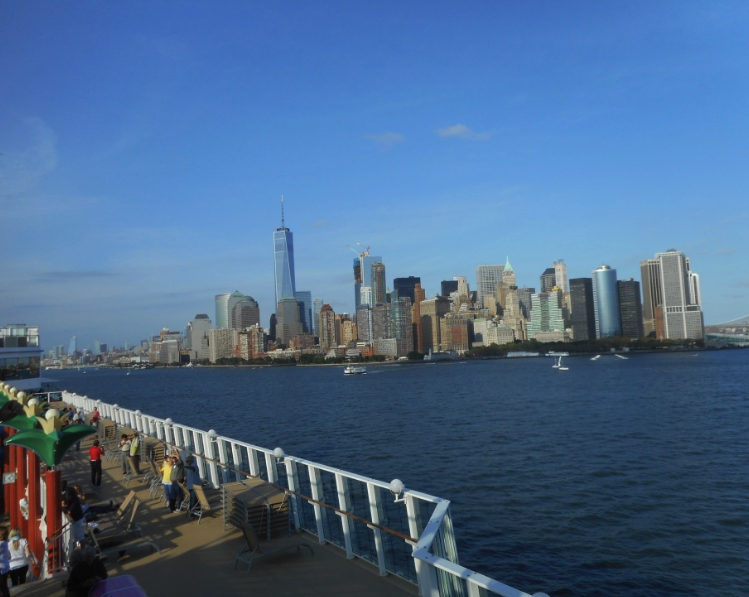 Like sailing from home — from NYC to Canada