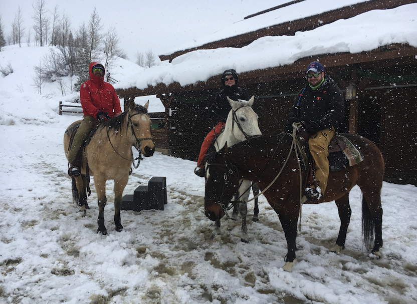 Snow Shoeing, Back Country skiing and horseback – Vista Verde Guest Ranch