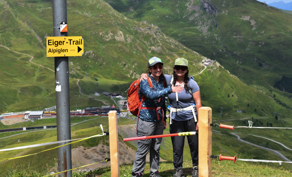Embarking on the Eiger Trail