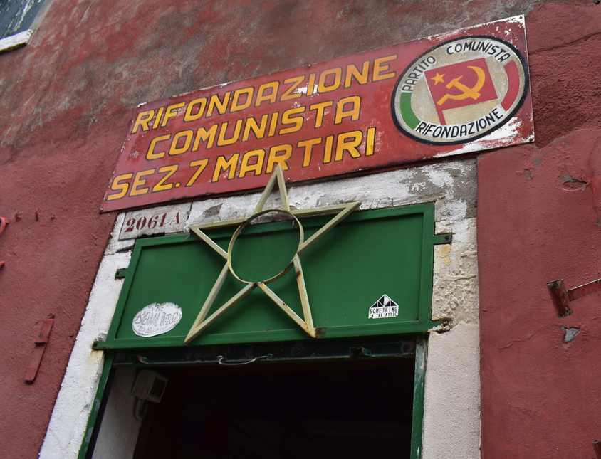 Communinistas! Actually more like a drinking society