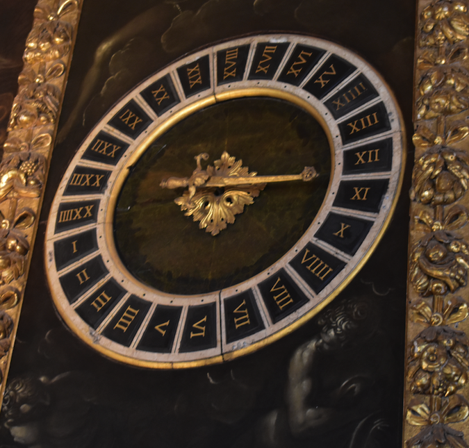 Clock in the Doges Palace that measured time by the amount of daylight