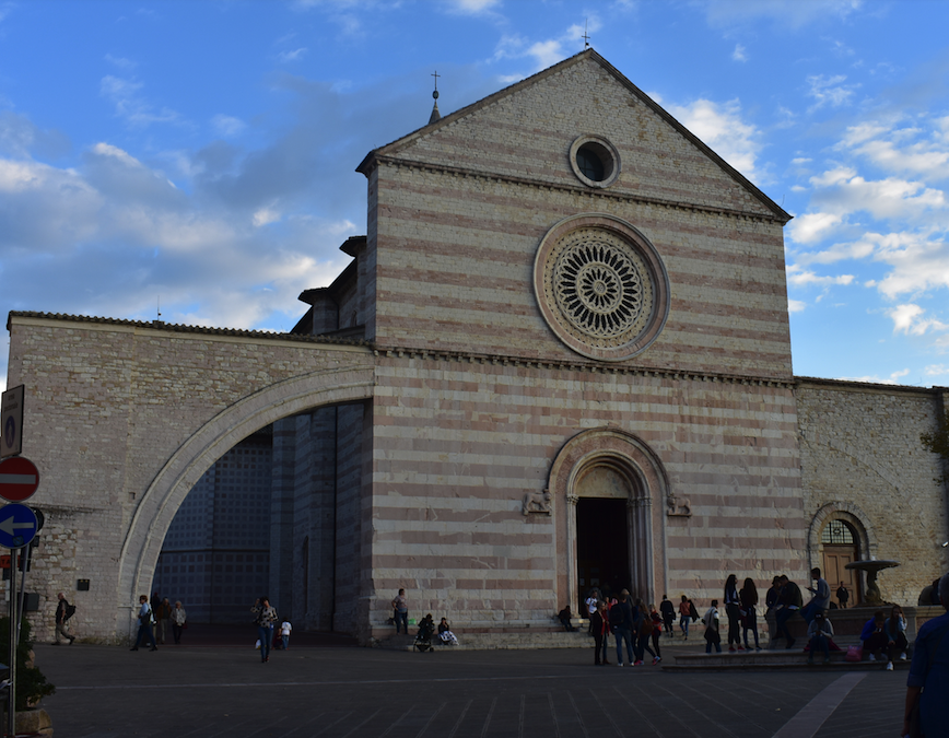 A big lesson in tolerance and humanity — Assisi Italy