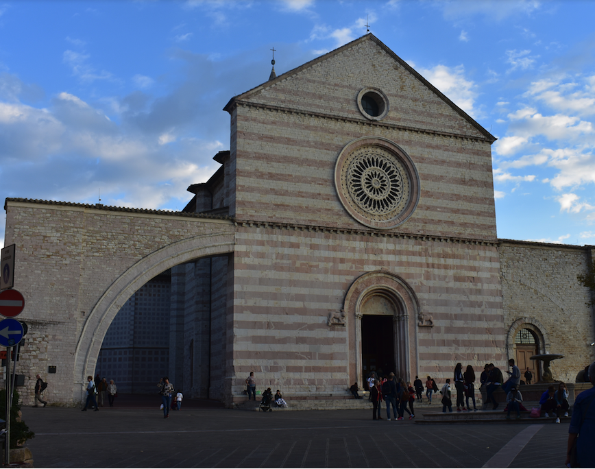 Basilica of St. Clare in Assisi