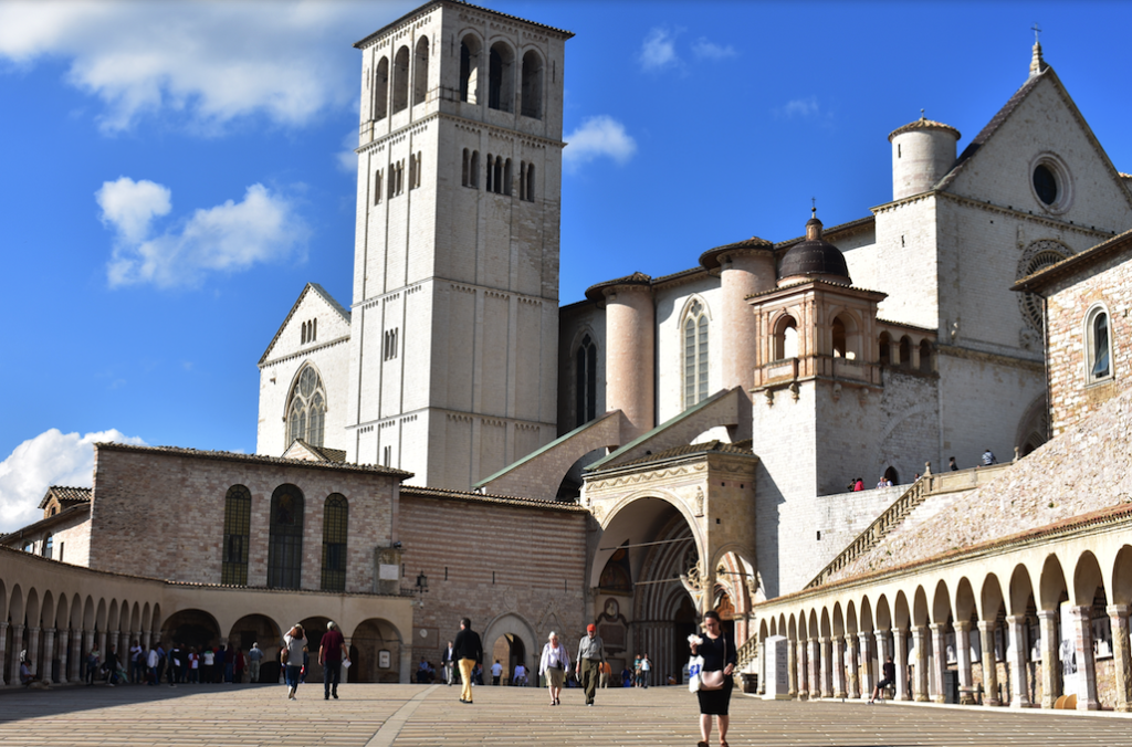 The Basilica of St. Francis in Assisi