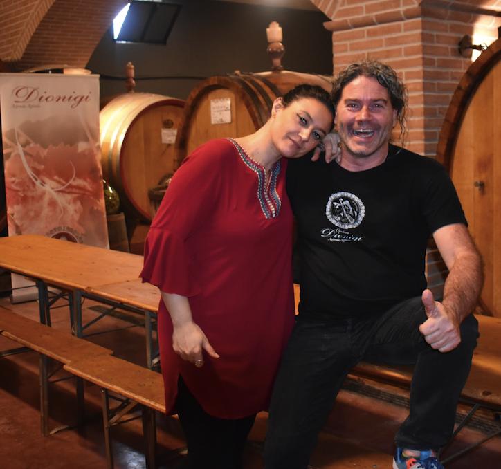 Carolina Bandera and Roberto Dionigi