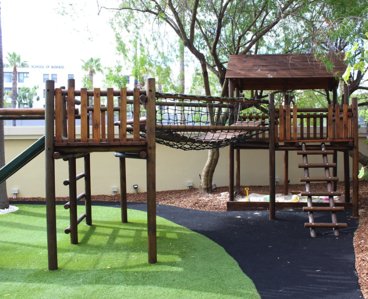 Kids playground at the One & Only Cape Town