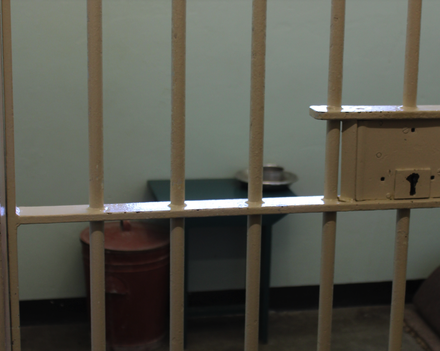 Nelson Mandela's Prison cell for 18 years on Robben Island