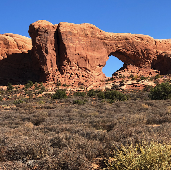 There are more than 2000 arches in Arches National Park